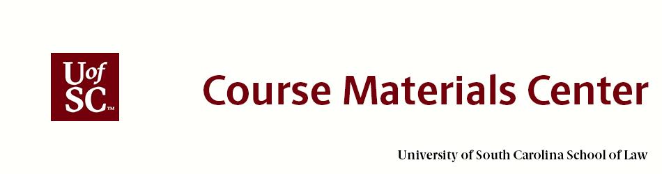 Course Materials Center